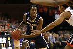 02 January 2016: Notre Dame's V.J. Beachem. The University of Virginia Cavaliers hosted the University of Notre Dame Fighting Irish at the John Paul Jones Arena in Charlottesville, Virginia in a 2015-16 NCAA Division I Men's Basketball game. Virginia won the game 77-66.