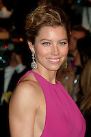 Jessica Biel arriving at the Vanity Fair Oscar Party in  West Hollywood, CA  2/25/2007.