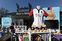 A general view of the Help for Heroes set-up. The Clash, Aviva Premiership match, between Bath Rugby and Leicester Tigers on April 8, 2017 at Twickenham Stadium in London, England. Photo by: Rob Munro / Onside Images