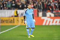 Nick Rimando of Real Salt Lake during the game, D.C. United defeated Real Salt Lake 1-0 in their home opener, at RFK Stadium, Saturday March 9,2013.