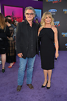 Kurt Russell &amp; Goldie Hawn at the world premiere for &quot;Guardians of the Galaxy Vol. 2&quot; at the Dolby Theatre, Hollywood. <br /> Los Angeles, USA 19 April  2017<br /> Picture: Paul Smith/Featureflash/SilverHub 0208 004 5359 sales@silverhubmedia.com