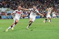 FUSSBALL WM 2014 FINALE  Deutschland - Argentinien