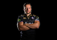Max Lahiff poses for a portrait in the 2015/16 European kit during a Bath Rugby photocall on September 8, 2015 at Farleigh House in Bath, England. Photo by: Patrick Khachfe / Onside Images
