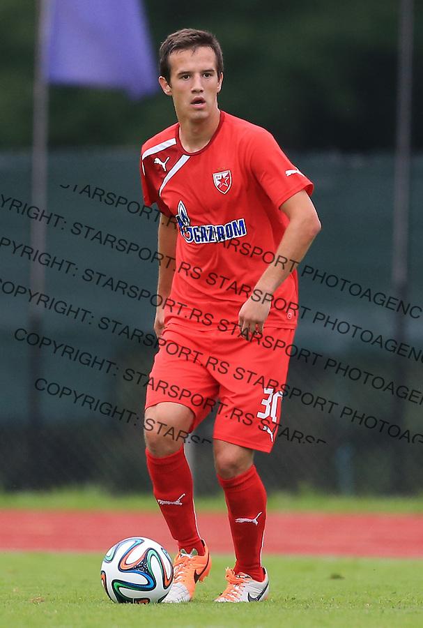 Fudbal season 2013-2014<br /> FK Crvena Zvezda pripreme<br /> Crvena Zvezda v Krka<br /> Vukasin Jovanovic<br /> Novo Mesto, 07.12.2014.<br /> foto: Srdjan Stevanovic/Starsportphoto &copy;