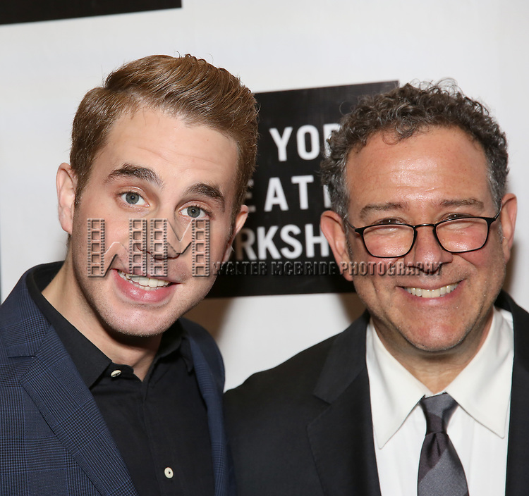 Ben Platt and Michael Greif attends New York Theatre Workshop's 2017 Spring Gala at the Edison Ballroom on May 15, 2017 in New York City.