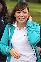 TV Celebrity Lorraine Kelly backing Sky Ride Glasgow and freshnlo Pedal for Scotland at the launch at the People's Palace, Glasgow Green, Glasgow on 11.9.11.