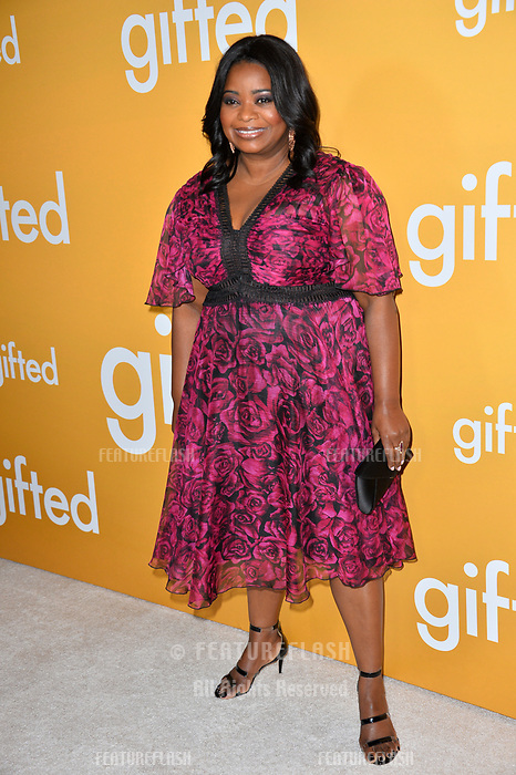 Actress Octavia Spencer at the premiere for &quot;Gifted&quot; at The Grove. Los Angeles, USA 04 April  2017<br /> Picture: Paul Smith/Featureflash/SilverHub 0208 004 5359 sales@silverhubmedia.com