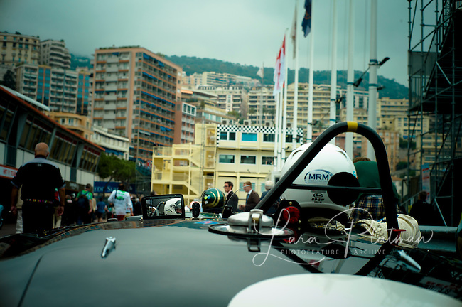 Aston Martin at the Grand Prix de Monaco Historic 2012