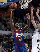REAL MADRID v FC BARCELONA .BASKETBALL KING'S CUP 2013