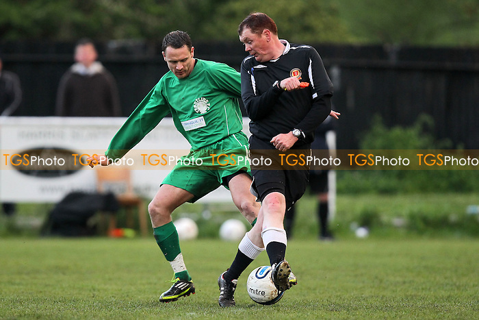 Cressing Yardley United vs Frontline Reserves - Braintree &amp; North Essex Sunday League Neil Horrocks Memorial Invitation Plate Final at Halstead Town FC - 14/05/12 - MANDATORY CREDIT: Gavin Ellis/TGSPHOTO - Self billing applies where appropriate - 0845 094 6026 - contact@tgsphoto.co.uk - NO UNPAID USE.