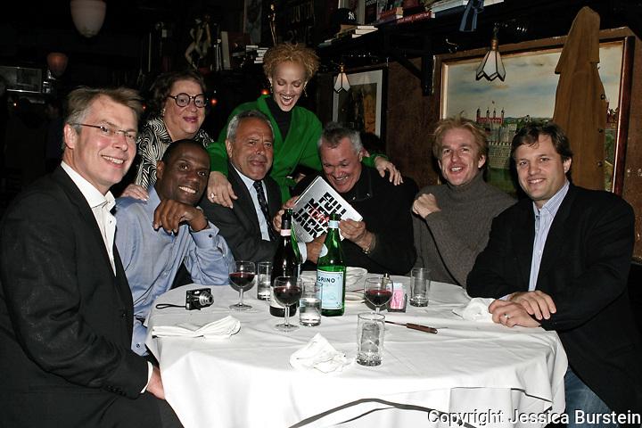 Richard Johndon, Mos Def, Modine and wife, Chuck Pfeiffer ith Elaine