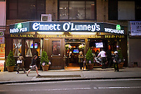 Emmett O'Lunney's Irish Pub in Midtown in New York is seen on Thursday, May 13, 2010.(© Richard B. Levine)