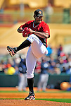 2 March 2009: Houston Astros' pitcher Jose Valverde on the mound during a Spring Training game against the New York Yankees at Osceola County Stadium in Kissimmee, Florida. The teams played to a 5-5, 9-inning tie. Mandatory Photo Credit: Ed Wolfstein Photo