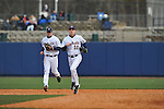 Former Rebels Justin Henry (10) and Jordan Henry (12) at Ole Miss baseball alumni game at Oxford-University Stadium in Oxford, Miss. on Saturday, February 5, 2011.