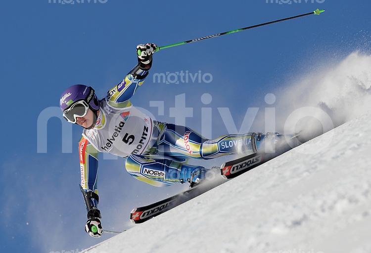 Ski Alpin  Weltcup  Frauen  Saison  2010/2011   12.12.2010 Riesenslalom Tina MAZE (SLO)