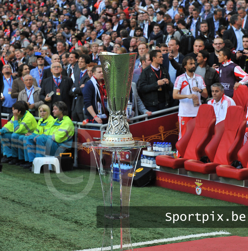 Benfica Lissabon - Chelsea FC : the uefa cup.foto DAVID CATRY / Nikonpro.be
