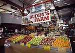 Buddy's Farm at Public Market on Granville Island in Vancouver