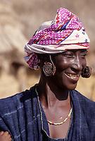 Delaquara, Niger. Fulani Woman.