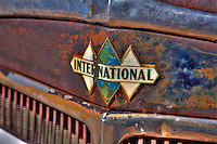 Vintage International Truck Triple Diamond Emblem - Motor Transport Museum - Campo, CA