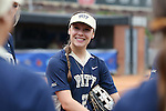 12 May 2016: Pitt's Kaitlin Manuel. The Florida State University Seminoles played the University of Pittsburgh Panthers at Dail Softball Stadium in Raleigh, North Carolina in a 2016 Atlantic Coast Conference Softball Tournament quarterfinal game. Florida State won the game 8-0 by run rule with one out in the bottom of the sixth inning.