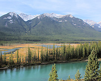 Bow Valley in Banff Alberta