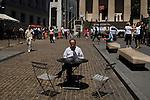 Wall Street, New York City, New York, USA, August 5, 2011