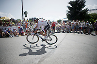 Warren Barguil (FRA/Giant-Alpecin)<br /> <br /> Stage 18 (ITT) - Sallanches &rsaquo; Meg&egrave;ve (17km)<br /> 103rd Tour de France 2016