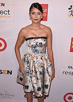 BEVERLY HILLS - OCTOBER 21:  Nina Dobrev at the 2016 GLSEN Respect Awards at Beverly Wilshire Four Seasons Hotel at The Grove on October 21, 2016 in Beverly Hills, California. Credit: mpi991/MediaPunch