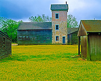 Barn at Historic Batsto Town, Wharton State Forest, Pine Barrens, New Jersey