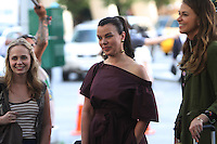 NEW YORK, NY-June 20: Tessa Albertson, Debi Mazar, Sutton Foster, shooting on location for TV LAND Younger in New York. NY June 20, 2016. Credit:RW/MediaPunch