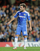 FUSSBALL   CHAMPIONS LEAGUE   SAISON 2011/2012     13.08.2011 FC Chelsea London - Bayer 04 Leverkusen Juan Mata (FC Chelsea)