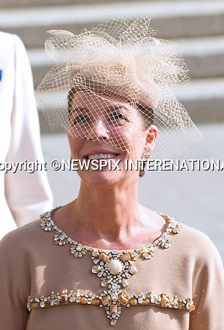 "PRINCESS CAROLINE OF HANOVER.Religious Wedding Ceremony of HRH the Hereditary Grand Duke and Countess Stéphanie de Lannoy at Cathedral of Our lady of Luxembourg, Luxembourg_20-10-2012.Mandatory credit photo: ©Dias/NEWSPIX INTERNATIONAL..(Failure to credit will incur a surcharge of 100% of reproduction fees)..                **ALL FEES PAYABLE TO: ""NEWSPIX INTERNATIONAL""**..IMMEDIATE CONFIRMATION OF USAGE REQUIRED:.Newspix International, 31 Chinnery Hill, Bishop's Stortford, ENGLAND CM23 3PS.Tel:+441279 324672  ; Fax: +441279656877.Mobile:  07775681153.e-mail: info@newspixinternational.co.uk"
