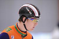 SCHAATSEN: LEEUWARDEN: 08-10-2015, Elfstedenhal, shorttrack Time Trial, Mark Prinsen, ©foto Martin de Jong
