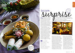 Article on restaurants for Jetstar Australia magazine, July 2009