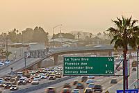 Interstate, 405 Freeway, Howard Hughes, the Bridge, Exit, California Department of Transportation, Traffic Freeway, California Department of Transportation,