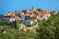 Beli hill town, Cres Island, Croatia