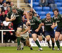 Reading, ENGLAND, Exiles, skipper,  Bob Casey, lead's, the breakout during, London Irish vs Saracens, Guinness Premiership Rugby, at the, Madejski Stadium, 06.05.2006, © Peter Spurrier/Intersport-images.com,  / Mobile +44 [0] 7973 819 551 / email images@intersport-images.com.