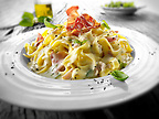 Tagliatelle Carbonara
