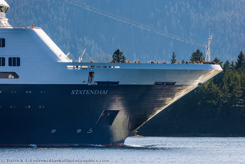 """Celebrity Cruise liner """"Infinity"""" in the Tongass Narrows, Ketchikan, Alaska."""