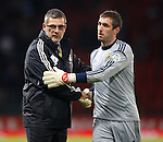 Craig Levein and Allan McGregor