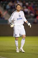 San Jose Earthquakes goalkeeper Joe Cannon (1). CD Chivas USA defeated the San Jose Earthquakes 3-2 at Home Depot Center stadium in Carson, California on Saturday April 24, 2010.  .