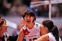 Saori Kimura (JPN), NOVEMBER 17,2011 - Volleyball : FIVB Women's Volleyball World Cup 2011,4th Round Tokyo(A) during match between Japan 3-2 Germany at 1st Yoyogi Gymnasium, Tokyo, Japan. (Photo by Jun Tsukida/AFLO SPORT) [0003]