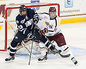 Kyle Smith (UNH - 23), Michael Sit (BC - 18) - The Boston College Eagles defeated the visiting University of New Hampshire Wildcats 6-2 on Friday, December 6, 2013, at Kelley Rink in Conte Forum in Chestnut Hill, Massachusetts.
