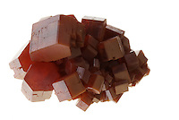 RED VANADINITE<br /> Vanadinite Sample from Morocco<br /> (Variations Available)<br /> Vanadinite is formed by the oxidation of existing lead ore and other primary mineral deposits and is known as a secondary mineral.