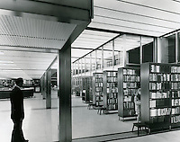 1962 September 02..Redevelopment..Downtown South (R-9)..Kirn Memorial Library Interior..HAYCOX - R. V. Fishbeck.NEG#  64-994-1.3002..