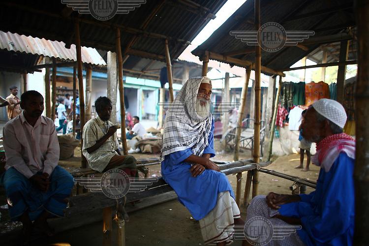 Village market in Biswamvarpur.
