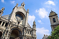 Sainte Catherine (French) Sint Katelijne (Flemish) Church in Brussels Belgium.