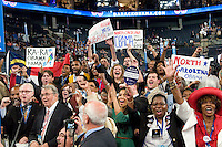 CHARLOTTE, NC - September 5, 2012 - North Carolina Roll Call for Nomination of President of the United States at the 2012 Democratic National Convention.