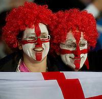 Rugby World Cup Auckland England v Scotland  Pool B 01/10/2011.England Fans.Photo  Frey Fotosports International/AMN Images