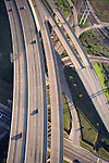 Aerial view of I-664 in Newport News, VA